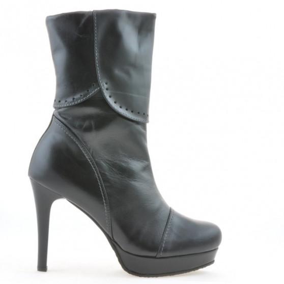 Women knee boots 1132 black