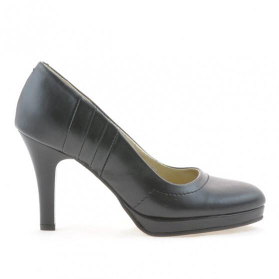 Women stylish, elegant shoes 1086 black