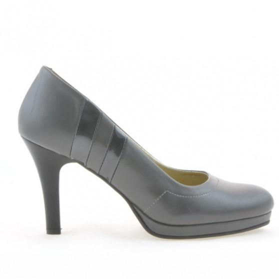 Pantofi eleganti dama 1086 gri