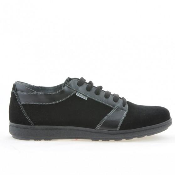 Men sport shoes 723 black velour