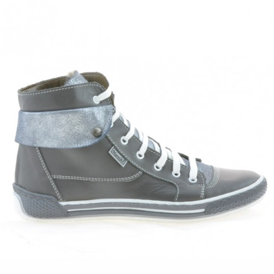 Women boots 258 gray combined