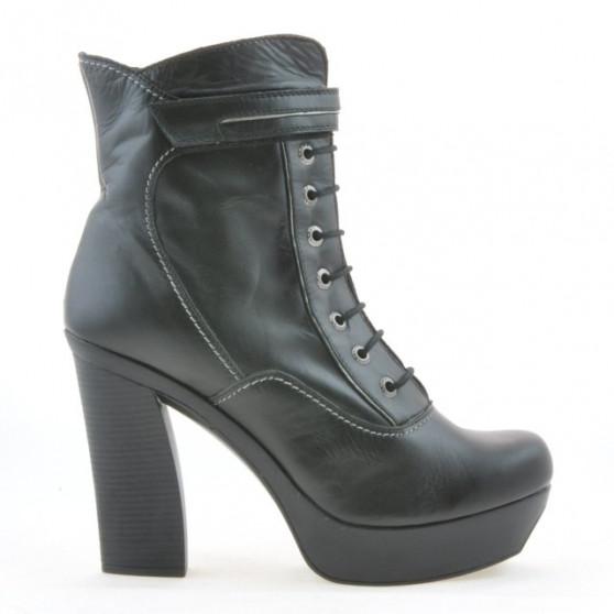 Women boots 3261 black+gray