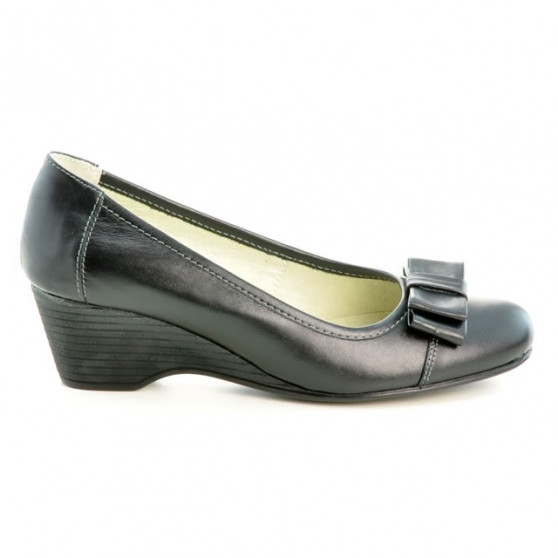 Women stylish, elegant, casual shoes 636-1 black