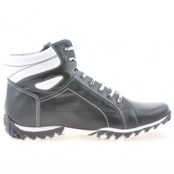 Men boots 460 black+white