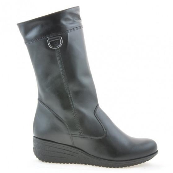 Women knee boots 3245 black