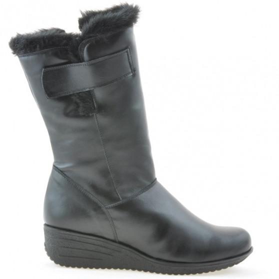 Women knee boots 3246 black