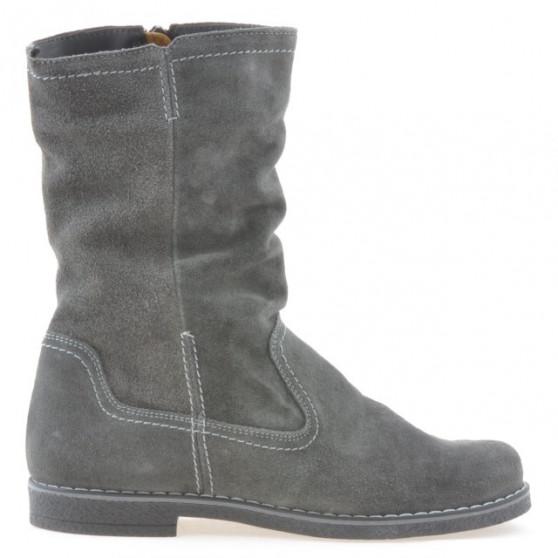 Women boots 3272 antracit velour