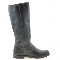 Women knee boots 3273 black