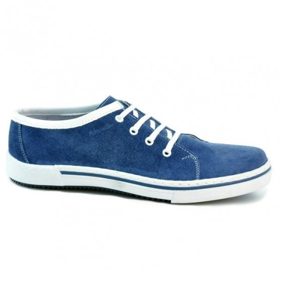 Men casual, sport shoes 722 indigo velour