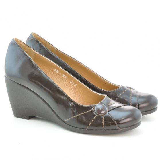 Pantofi casual dama 613 lac cafe