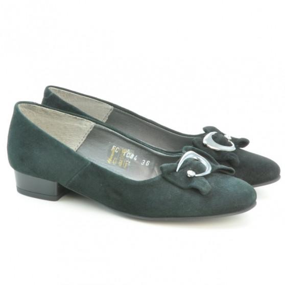 Pantofi casual dama 1084 negru antilopa