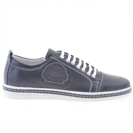 Men casual, sport shoes 766 indigo