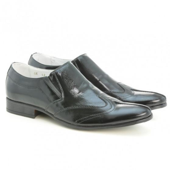 Pantofi eleganti barbati 995 lac negru