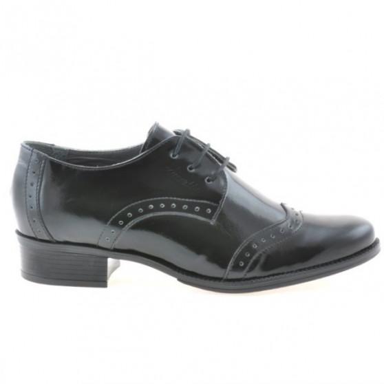 Women casual shoes 691 patent black