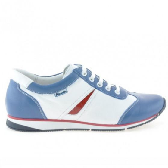 Pantofi sport dama 196 indigo+alb