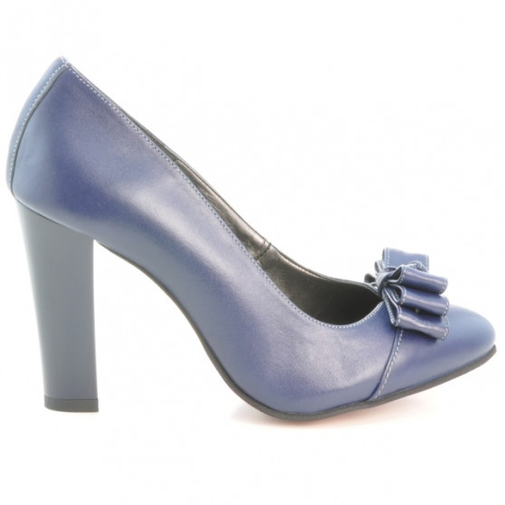 Women stylish, elegant shoes 1226 indigo