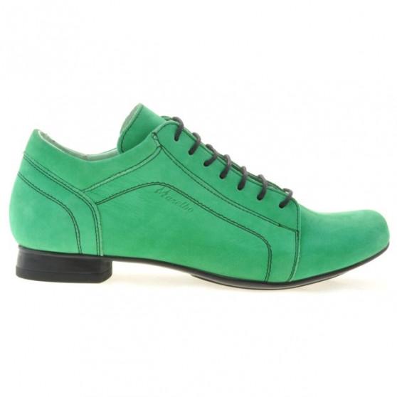 Pantofi casual dama 645 bufo verde
