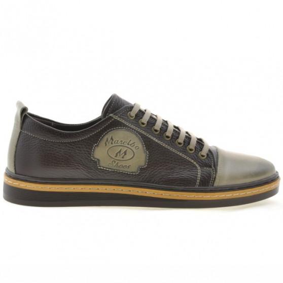 Pantofi casual / sport barbati 766 nisip+cafe