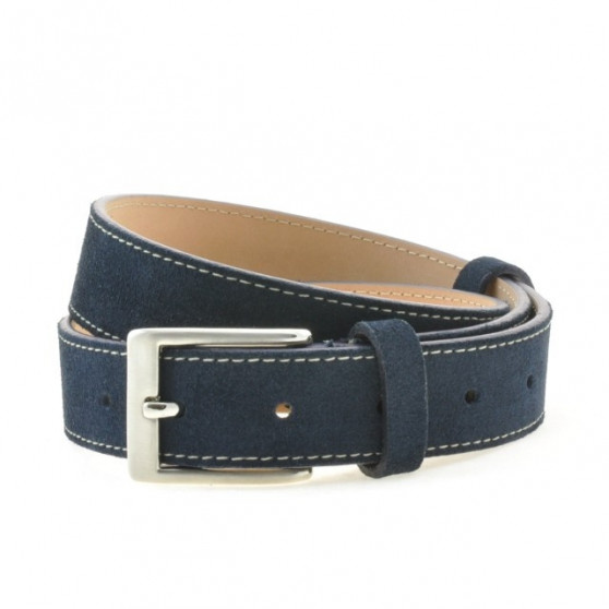 Children belt 02clc blue velour