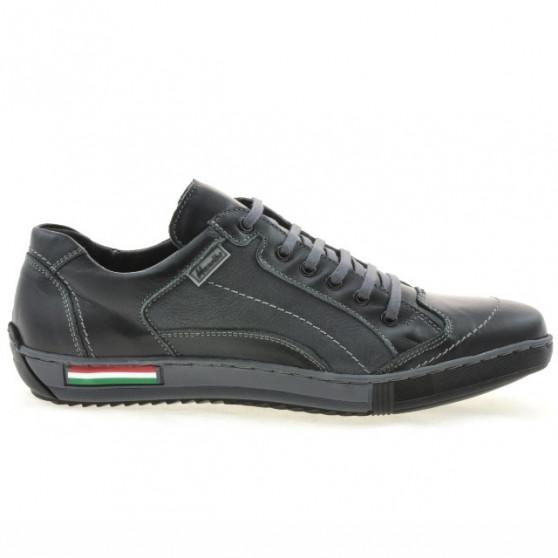 Men sport shoes 707 black+gray