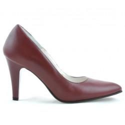 Women stylish, elegant shoes 1234 grena