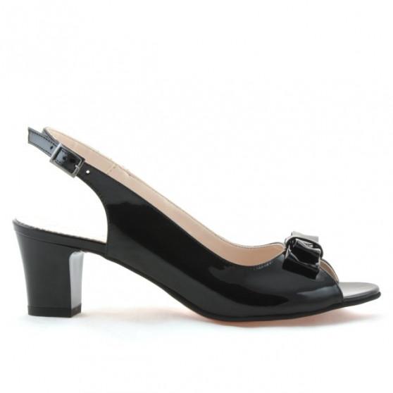 Women sandals 1251 patent black