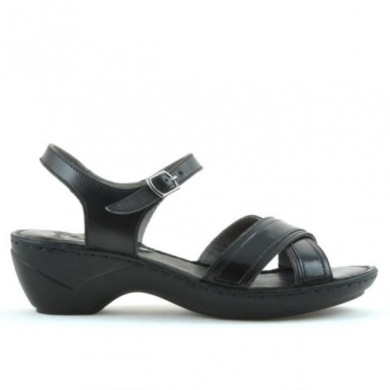 Women sandals 501 black combined