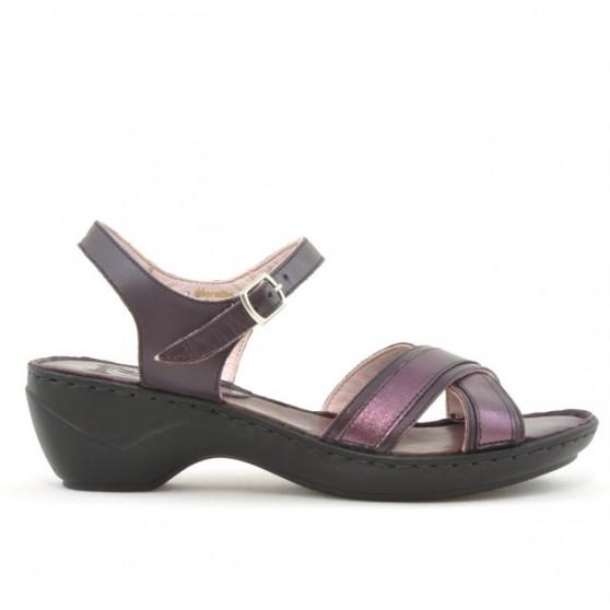 Sandale dama 501 mov combinat