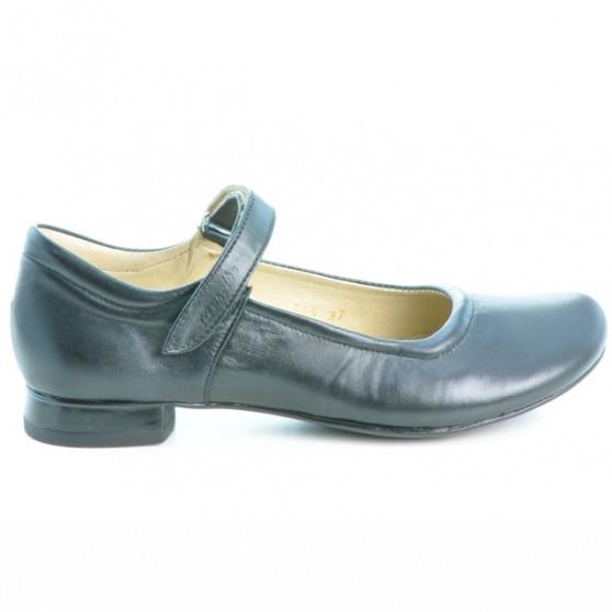 Pantofi casual dama 644 negru