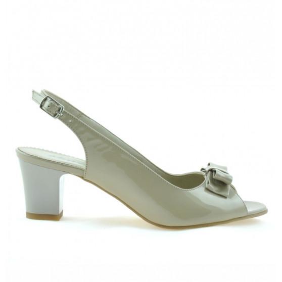 Sandale dama 1251 lac bej