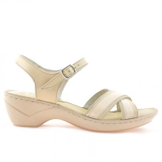 Women sandals 501 beige
