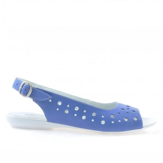 Women sandals 5020 blue
