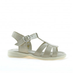 Small children sandals 53c patent beige
