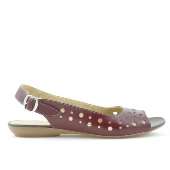 Women sandals 5020 bordo