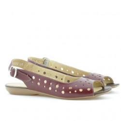 Sandale dama 5020 bordo