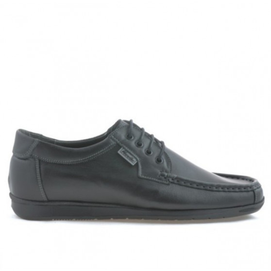 Men loafers, moccasins 818 black