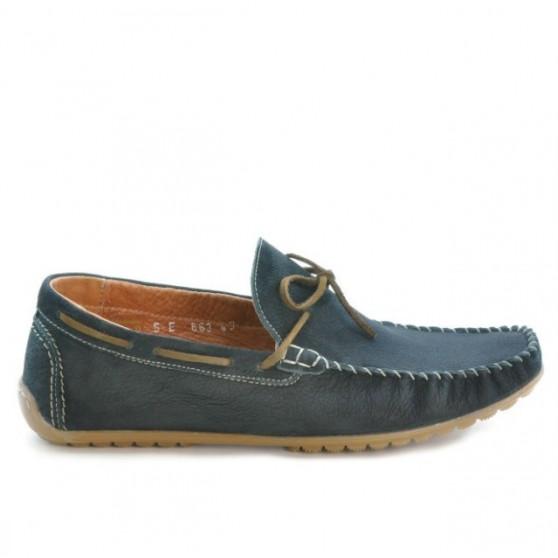 Men loafers, moccasins 863 bufo black
