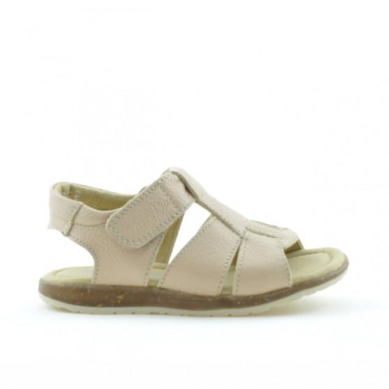 Small children sandals 54c beige