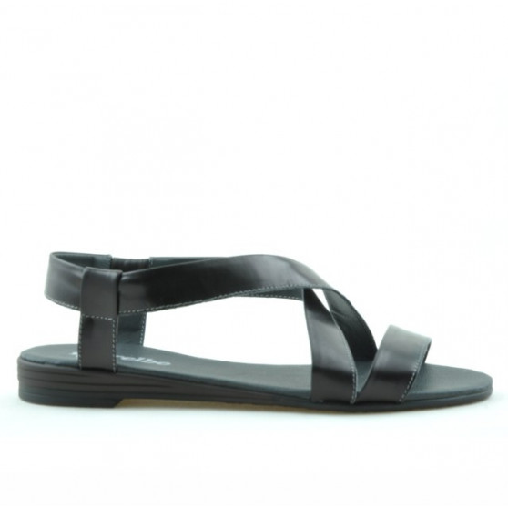 Sandale dama 5010 lac negru