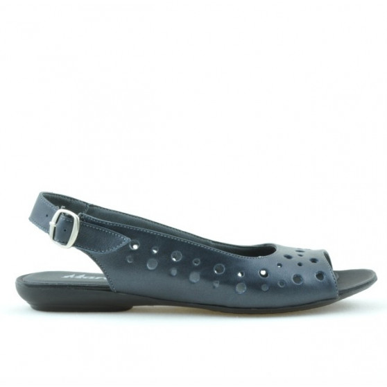 Women sandals 5020 bleumarin