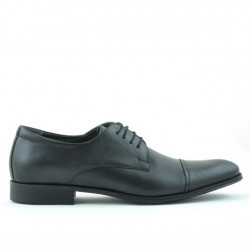 Men stylish, elegant shoes (large size) 785m black