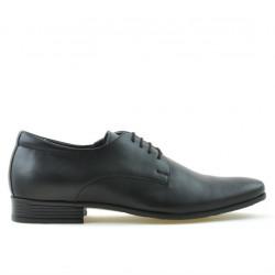 Men stylish, elegant shoes 786 black