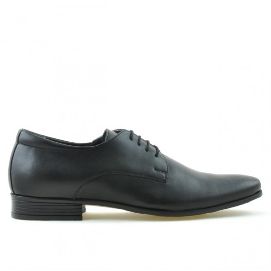Men stylish, elegant shoes 786 black