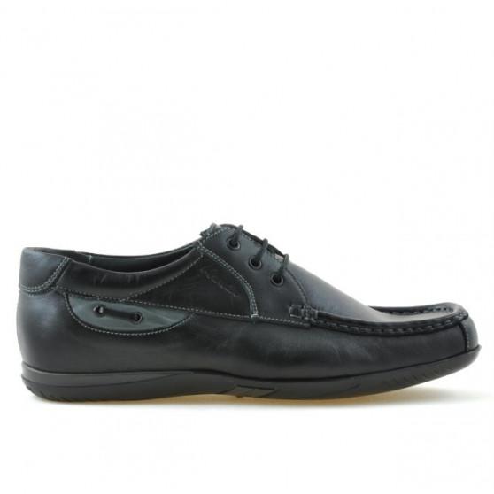 Men loafers, moccasins 718 black