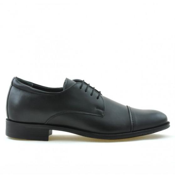 Men stylish, elegant shoes 785 black