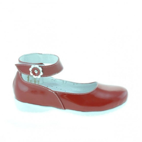 Small children shoes 17c patent red