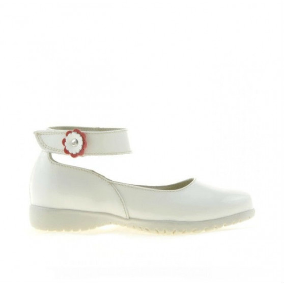 Pantofi copii mici 17c lac bej