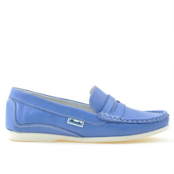 Mocasini dama 661 albastru