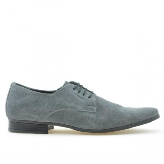 Pantofi eleganti barbati 786 gri velur