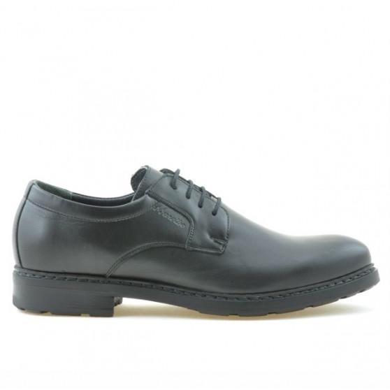 Men stylish, elegant, casual shoes 755 black